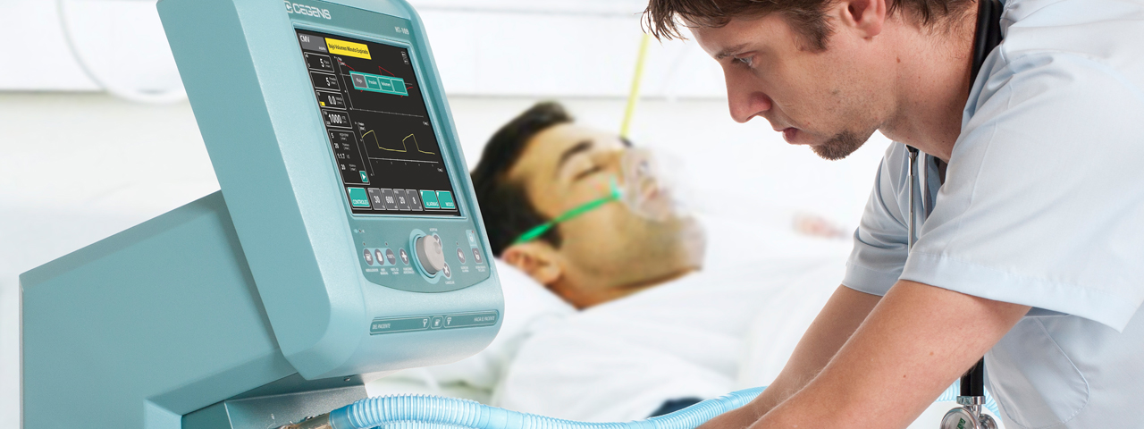 Intensive Care Ventilator HT-109